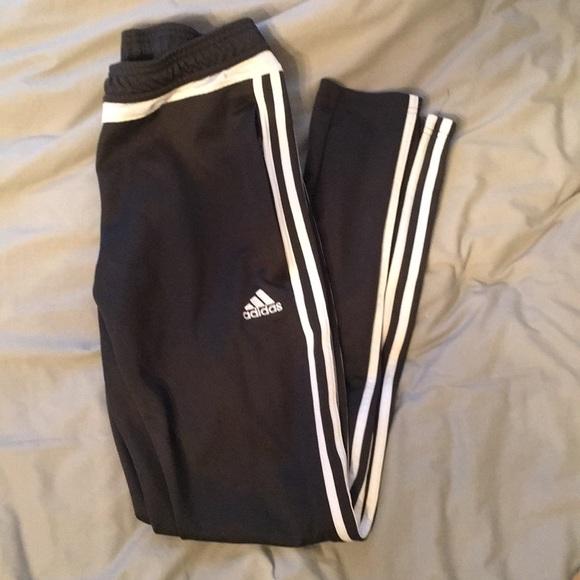 gray adidas soccer pants climacool 18d0ce4a3f53